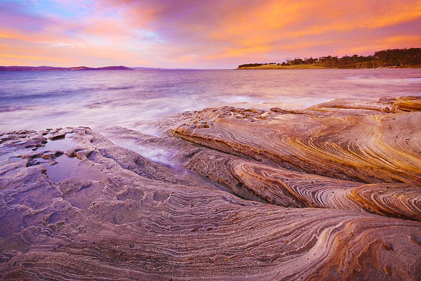 SUNSET, MARIA ISLAND
