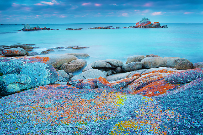 PICNIC ROCKS, BAY OF FIRES