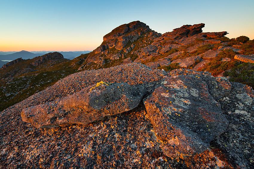 Sunrise, Clear Hill