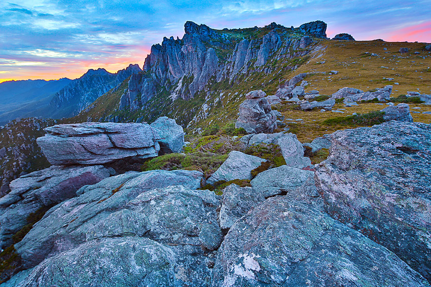 Sunrise, Western Arthurs