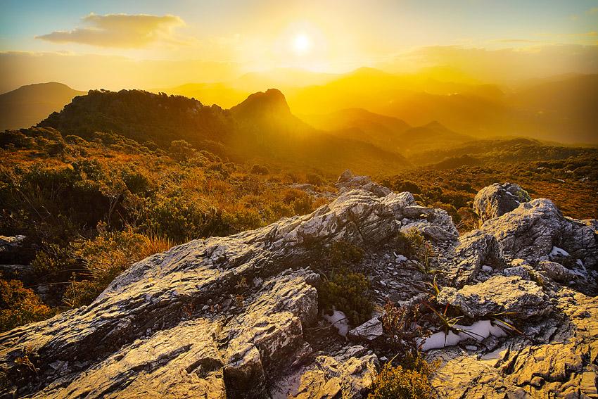 Sunset, Mt McCall