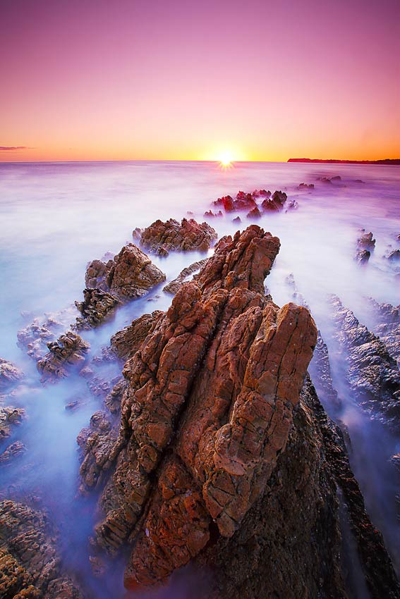 Sunrise, Rocky Cape