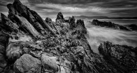 Stormy Skies, Rocky Cape