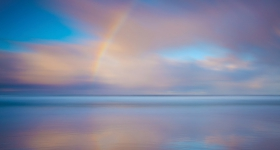 Rainbow Sunrise, South Cape Bay