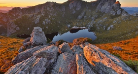 Sunset, Western Arthurs