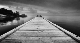 Jetty at Coles Bay, Freycinet