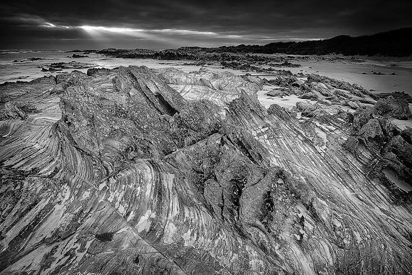 Patterns in stone, Tarkine coast