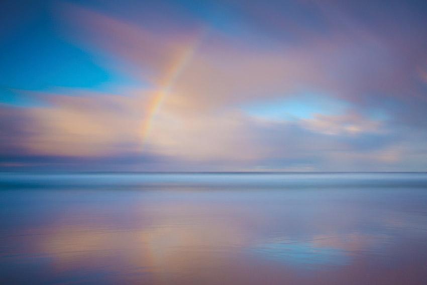 Rainbow Sunrise, South Cape Bay