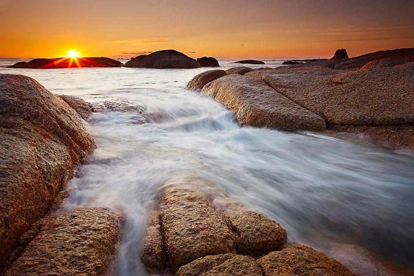 Sunrise, Eddystone Point