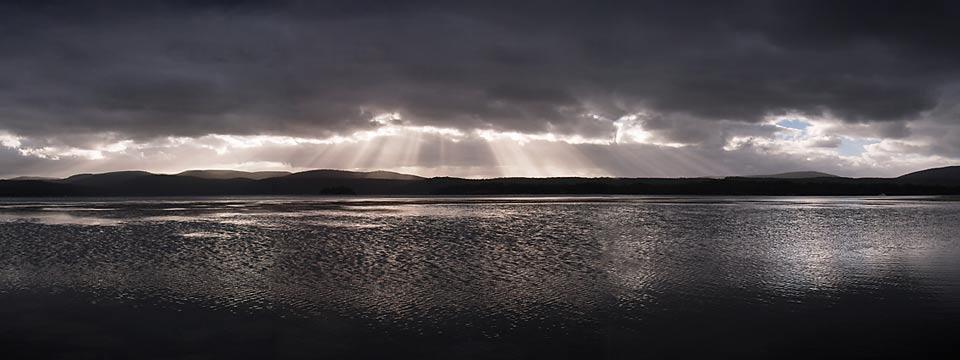 Sunrays, Canarvon Bay