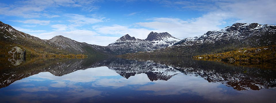 Cradle Mountain reflection