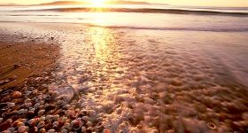 SUNRISE AND SHELLS, CLIFTON BEACH