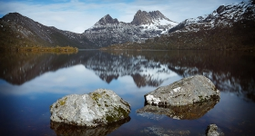 WINTER, CRADLE MOUNTAIN