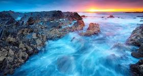 Sunset, Tarkine Coast