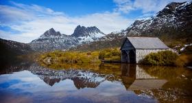 Boat shed, Cradle Mt