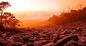 Sunrise, Wellington Range