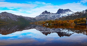 Boat shed, Cradle Mountain